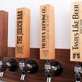 custom chalkboard beer tap handles